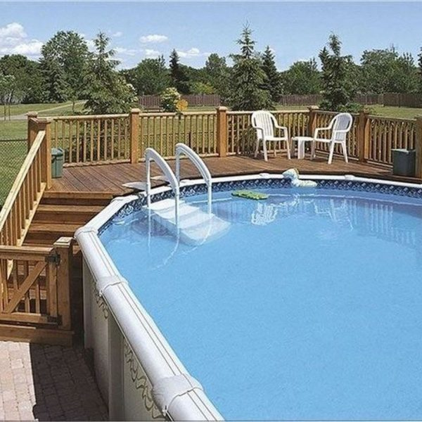 Affordable Ground Pool Landscaping Ideas16