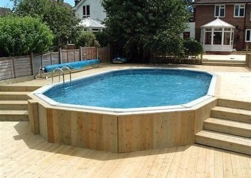 Affordable Ground Pool Landscaping Ideas20