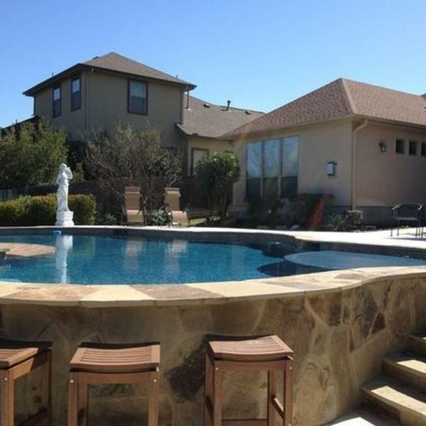 Affordable Ground Pool Landscaping Ideas29