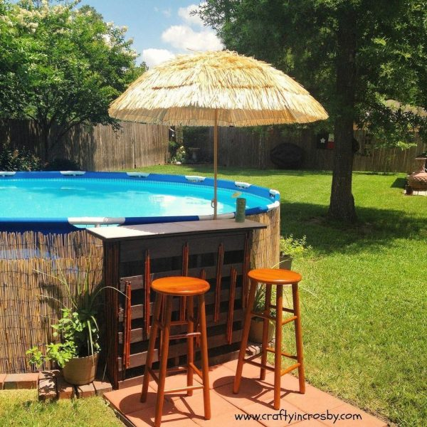 Affordable Ground Pool Landscaping Ideas33