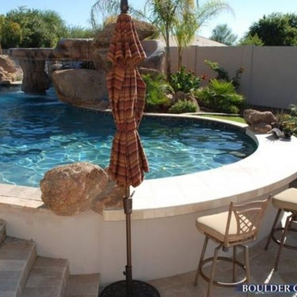 Affordable Ground Pool Landscaping Ideas42