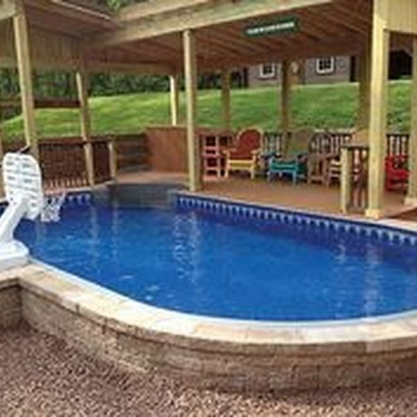 Affordable Ground Pool Landscaping Ideas44