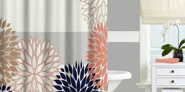 Cozy Coral Color Ideas For Bathroom07