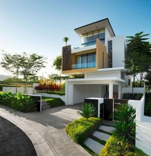 Creative Contemporary Design Ideas For Home Exterior28