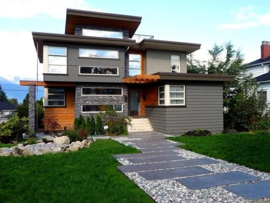 Creative Contemporary Design Ideas For Home Exterior42