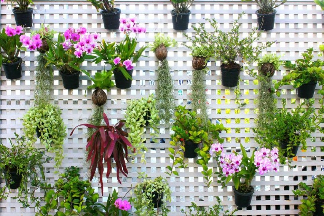 Cute Living Wall Décor Ideas For Indoor And Outdoor19