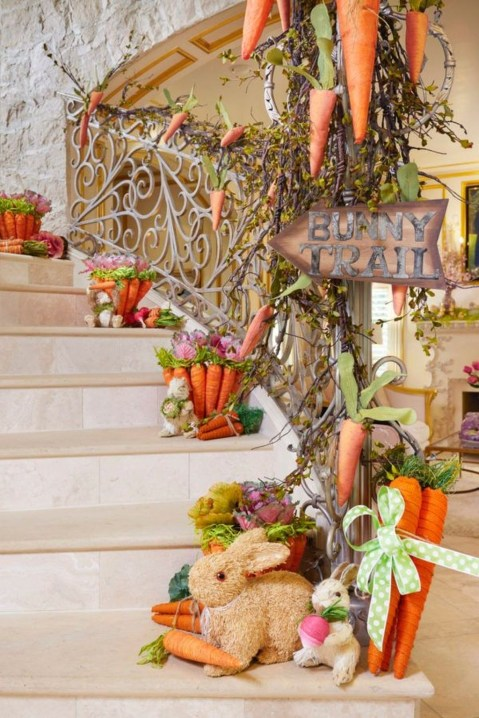 Fascinating Easter Holiday Decoration Ideas For Home50