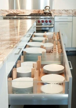 Luxury Kitchen Storage Ideas To Save Your Space35