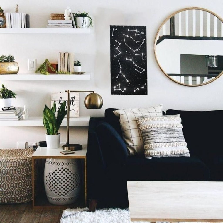 Perfect Apartment Living Room Decor Ideas On A Budget10