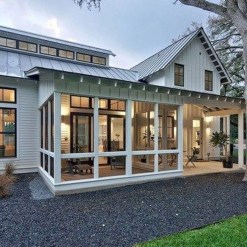 Popular Farmhouse Exterior Design Ideas26