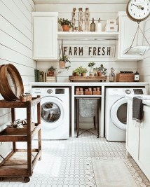 Popular Farmhouse Laundry Room Design Ideas08