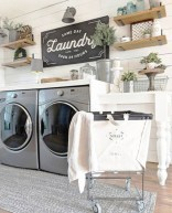 Popular Farmhouse Laundry Room Design Ideas12