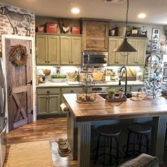 Pretty Farmhouse Kitchen Design Ideas To Get Traditional Accent01