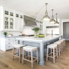Stunning Kitchen Island Ideas With Seating35