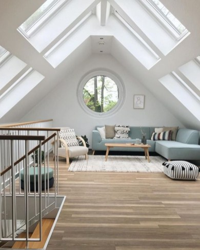 Unusual Attic Room Design Ideas11