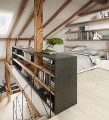 Unusual Attic Room Design Ideas28