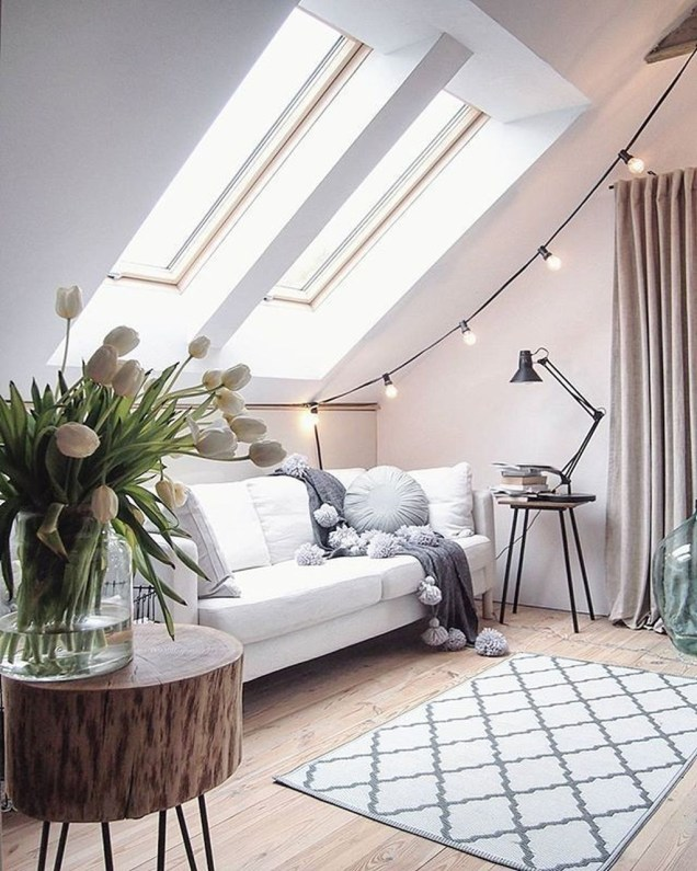 Unusual Attic Room Design Ideas39
