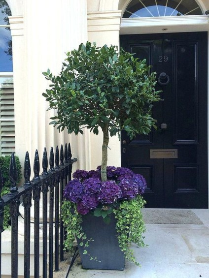 Adorable Porch Planter Ideas That Will Give A Unique Look04