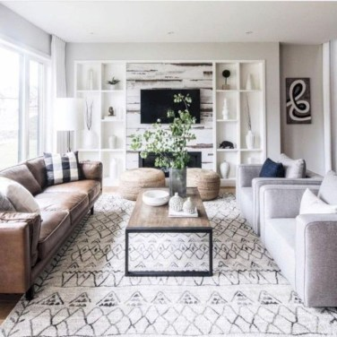 Affordable Family Room Décor Ideas For Your Family04