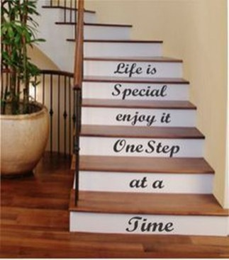 Beautiful Color Ideas For Your Stairs Decoration17