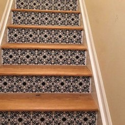 Beautiful Color Ideas For Your Stairs Decoration23