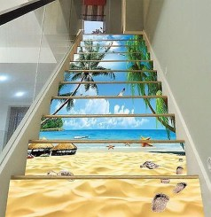 Beautiful Color Ideas For Your Stairs Decoration24