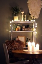 Captivating Diy Lighting Ideas For Small Apartment03