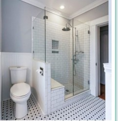 Catchy Subway Tiles Application Ideas For Bathroom20