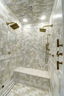 Catchy Subway Tiles Application Ideas For Bathroom36