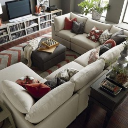 Comfortable Sutton U Shaped Sectional Ideas For Living Room10
