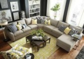 Comfortable Sutton U Shaped Sectional Ideas For Living Room33