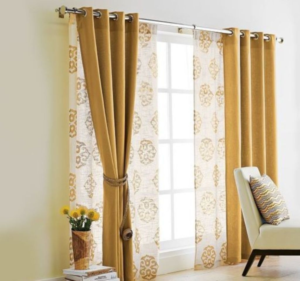 Cool Curtain Ideas For Living Room13
