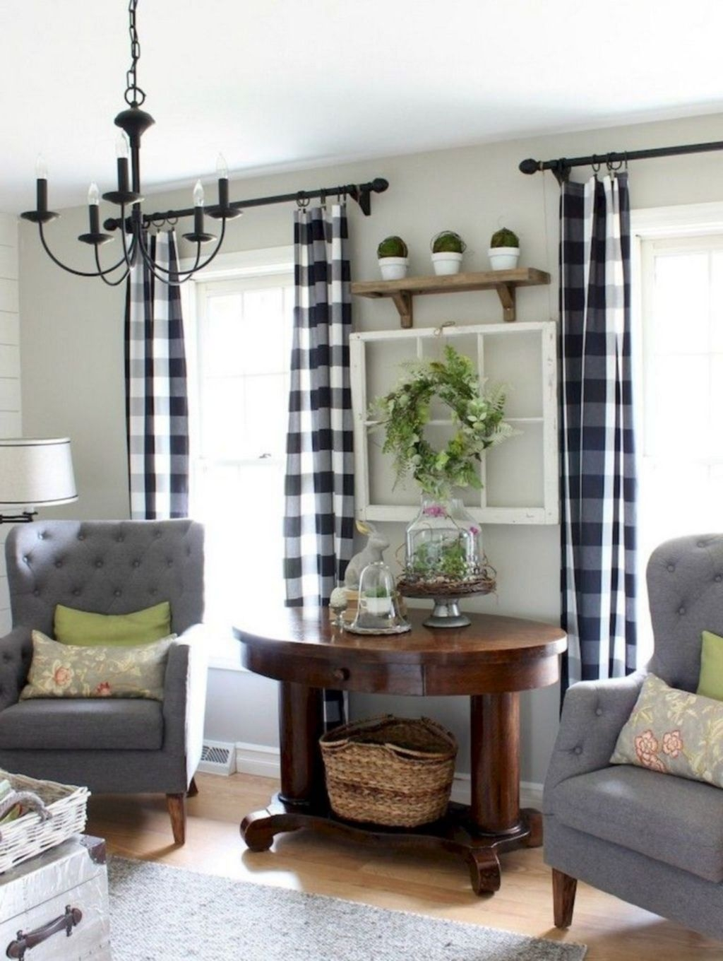 Cool Curtain Ideas For Living Room21