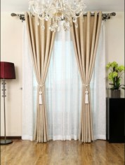 Cool Curtain Ideas For Living Room22