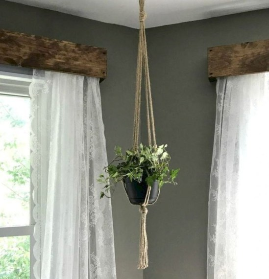 Cool Curtain Ideas For Living Room32