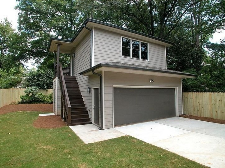 Cute Home Garage Design Ideas For Your Minimalist Home10