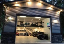Cute Home Garage Design Ideas For Your Minimalist Home30