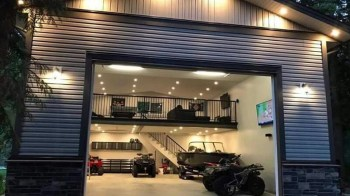 20+ Cute Home Garage Design Ideas For Your Minimalist Home