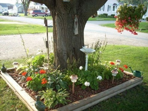 Fancy Diy Flower Beds Ideas For Your Garden12