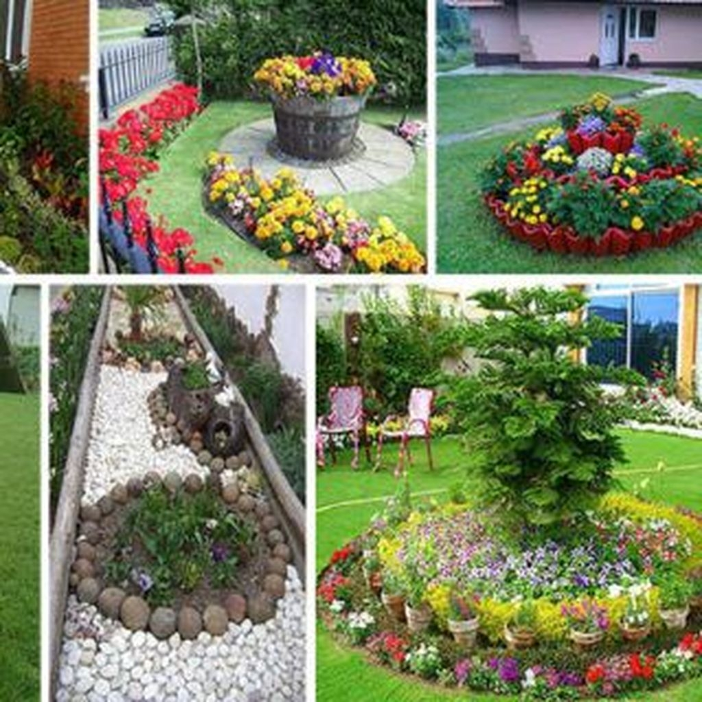 Fancy Diy Flower Beds Ideas For Your Garden21