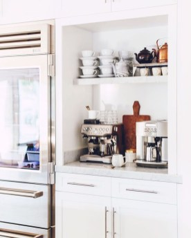 Latest Diy Coffee Station Ideas In Your Kitchen09