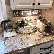 Latest Diy Coffee Station Ideas In Your Kitchen10