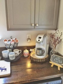 Latest Diy Coffee Station Ideas In Your Kitchen18