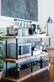 Latest Diy Coffee Station Ideas In Your Kitchen20
