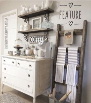 Latest Diy Coffee Station Ideas In Your Kitchen27