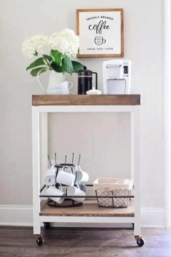 Latest Diy Coffee Station Ideas In Your Kitchen41