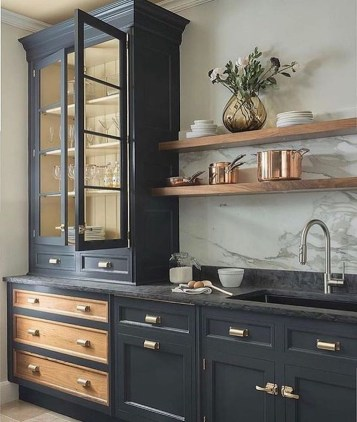 Newest Cabinet Design Ideas For Kitchen39