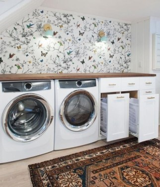 Relaxing Laundry Room Layout Ideas37