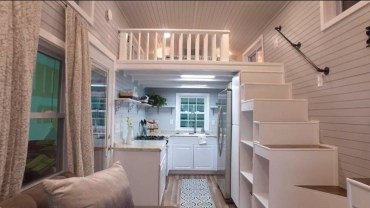 Rustic Tiny House Design Ideas With Two Beds18