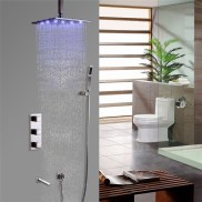 Stunning Rainfall Shower Ideas10